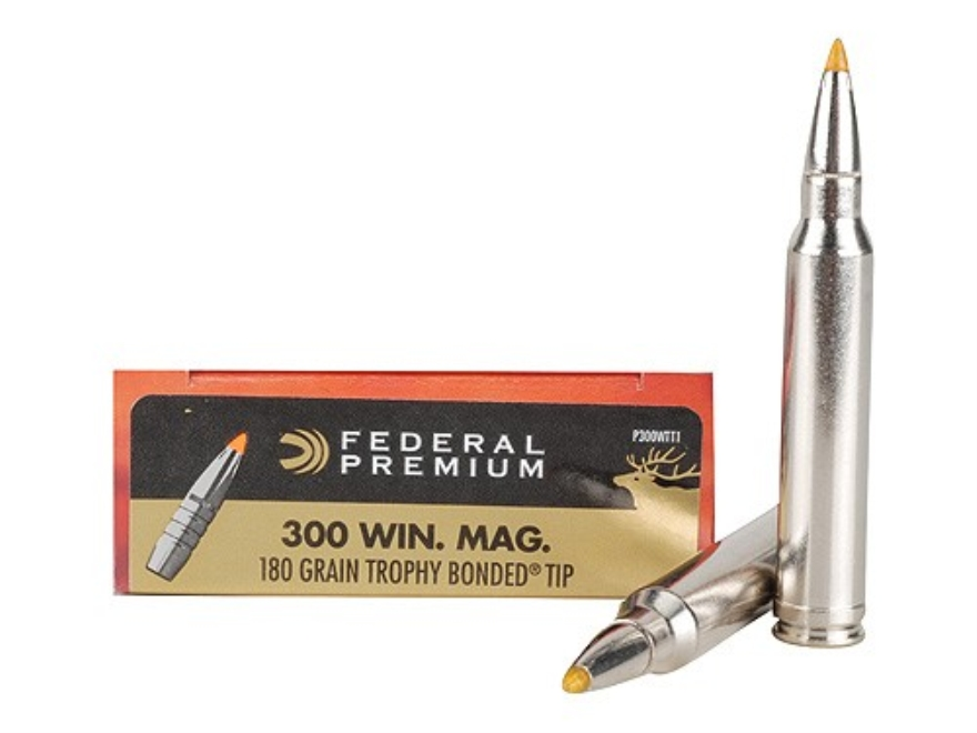 FEDERAL AMMO TROPHY BONDED 300WIN MAG