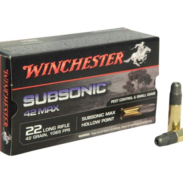 WINCHESTER .22 CAL SUBSONIC
