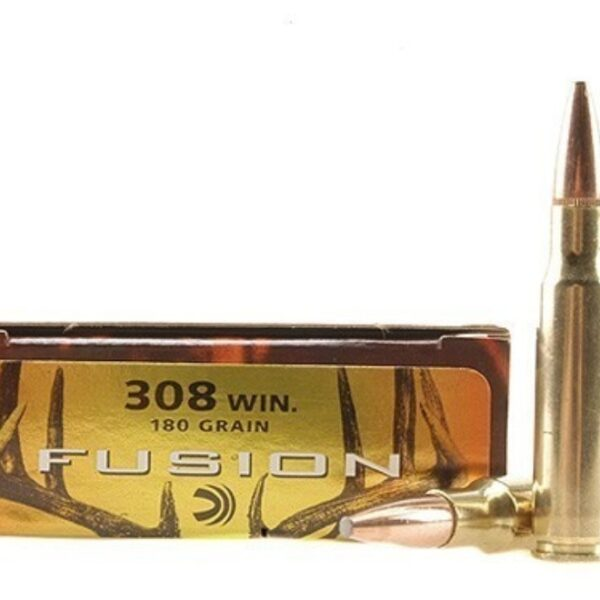 FEDERAL AMMO FUSION 308WIN 180gr