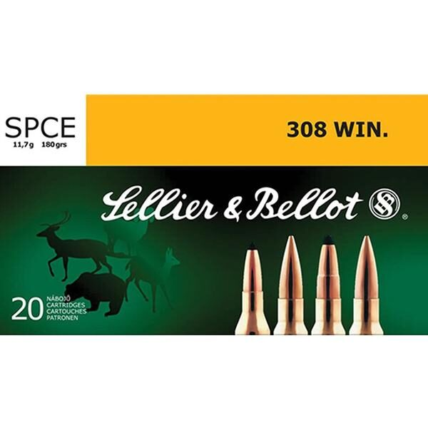 Sellier&Bellot .308WIN. SPCE 11.7g