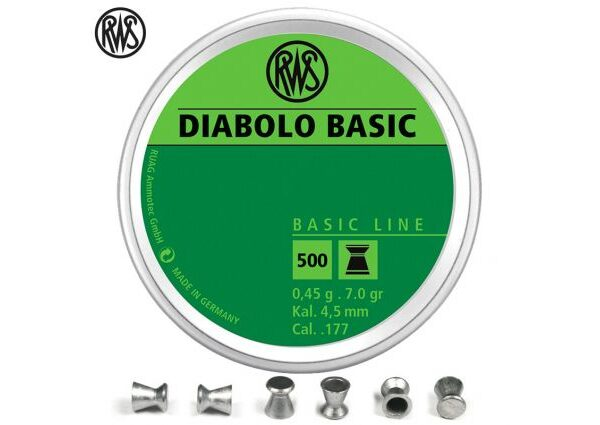 RWS DIABOLA BASIC 4,5mm