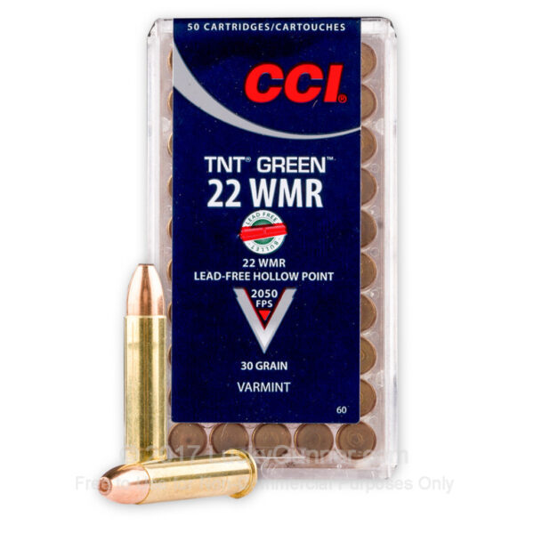 CCI TNT GREEN 22 WMR