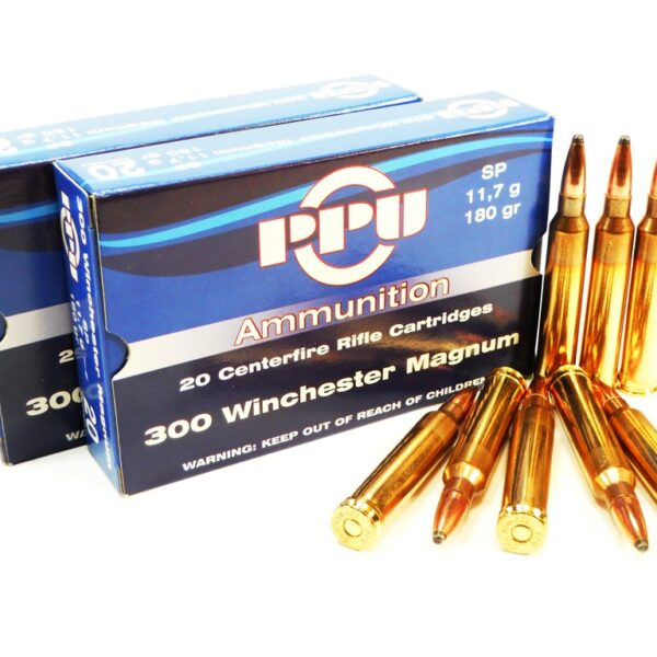 PPU 300 Win.Mag. SP  11,7g