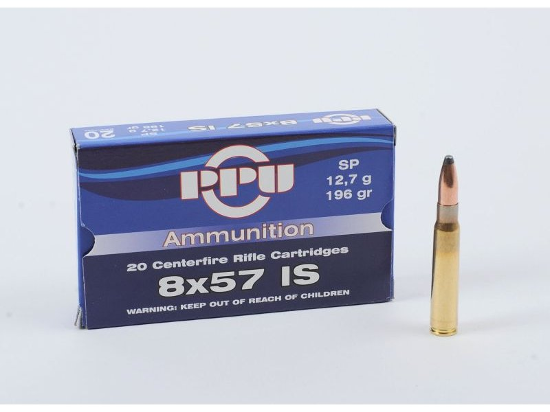 PPU 8x57IS  SP  12,7g