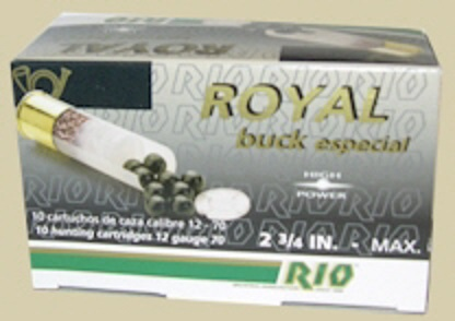 RIO  Royal Buck cal.12  6.20mm