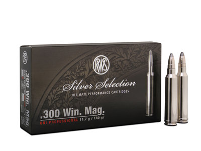 RWS 300Win.Mag. Silver Selection 11,9g