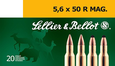 Sellier&Bellot 5,6x50R Mag.  SP 3.24g