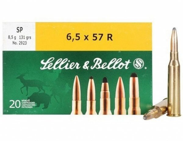 Sellier&Bellot 6,5x57R SP 8,5g