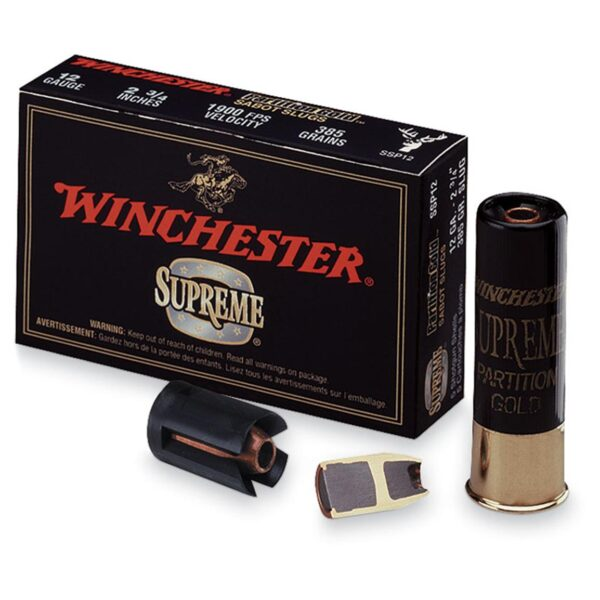 Winchester Superme Partition Gold  12cal.  25g